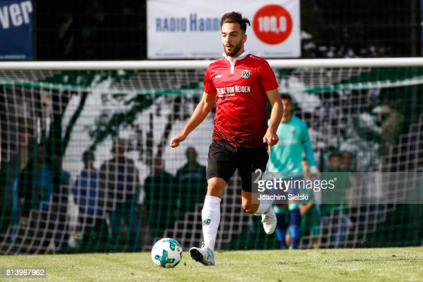 Kenan Karaman of Hannover 96 during the preseason friendly match between HSC Hannover and Hannover 96 at HSCStadion on July 2 2017 in Hanover Germany