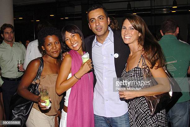 Kendall Griffin Pearl Lee Mazdack Rassi and Laura Morgan attend MILK Gallery hosts TSUNAMI IMPRINTS The Youngest Survivors silent auction and party...