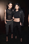 Kendall Jenner and Kylie Jenner attend DuJour Magazine's Jason Binn celebrating Kendall and Kylie Jenner's Bruce Weber shoot presented by Juice Press...