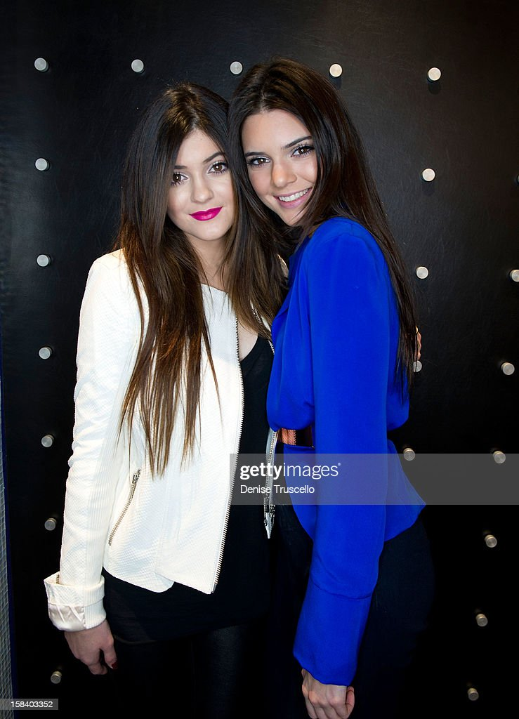 Kendall Jenner and Kylie Jenner visit Kardashian Khaos at The Mirage Hotel and Casino on December 15, 2012 in Las Vegas, Nevada.