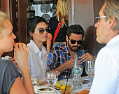 Kendall Jenner and Scott Disick are seen together on May 01 2015 in Los Angeles California