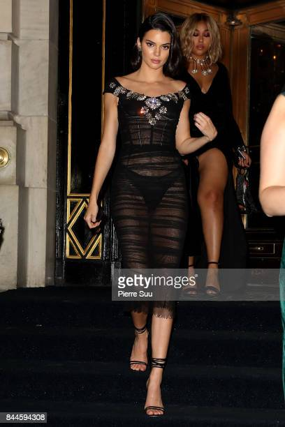 Kendall Jenner arrives at Harper's BAZAAR Celebration of 'ICONS By Carine Roitfeld' at The Plaza Hotel presented by Infor Laura Mercier Stella Artois...