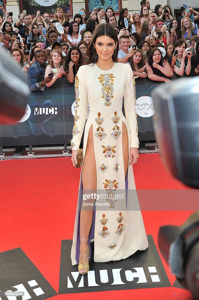 <a gi-track='captionPersonalityLinkClicked' href=/galleries/search?phrase=Kendall+Jenner&family=editorial&specificpeople=2786662 ng-click='$event.stopPropagation()'>Kendall Jenner</a> arrives at the 2014 MuchMusic Video Awards at MuchMusic HQ on June 15, 2014 in Toronto, Canada.