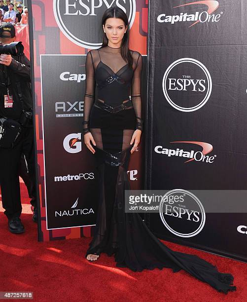 Kendall Jenner arrives at The 2015 ESPYS at Microsoft Theater on July 15 2015 in Los Angeles California