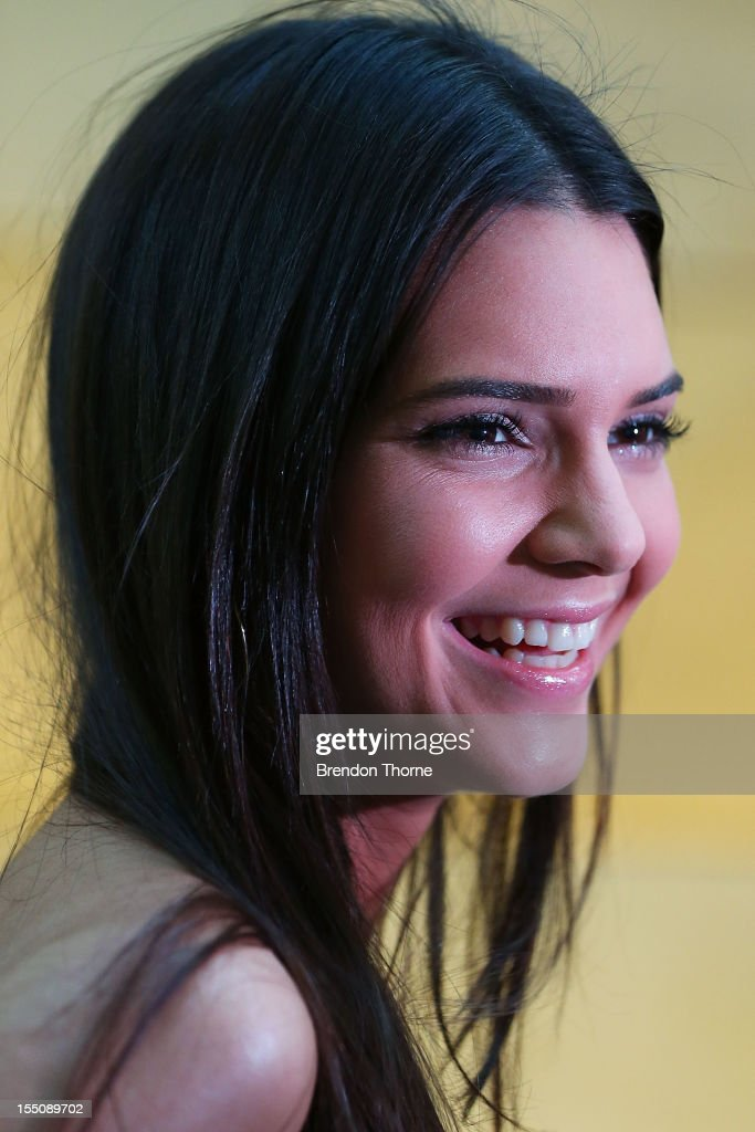 <a gi-track='captionPersonalityLinkClicked' href=/galleries/search?phrase=Kendall+Jenner&family=editorial&specificpeople=2786662 ng-click='$event.stopPropagation()'>Kendall Jenner</a> arrives at the book launch of 'Nomad Two Worlds' by Russell James on November 1, 2012 in Sydney, Australia.