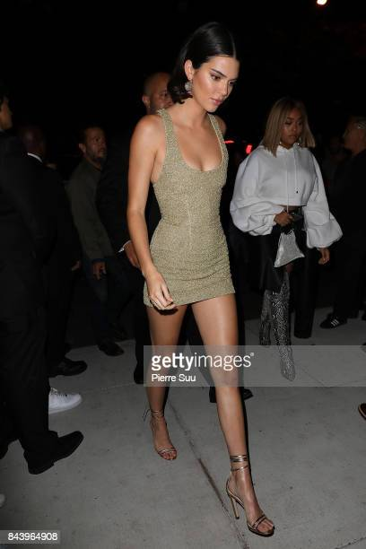 Kendall Jenner arrives at the Mert Alas x Marcus Piggot Book Launch party at Public Hotel on September 7 2017 in New York City