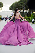 Kendall Jenner arrives for the amfAR 22nd Annual Cinema Against AIDS Gala at Hotel du CapEdenRoc on May 21 2015 in Cap d'Antibes France
