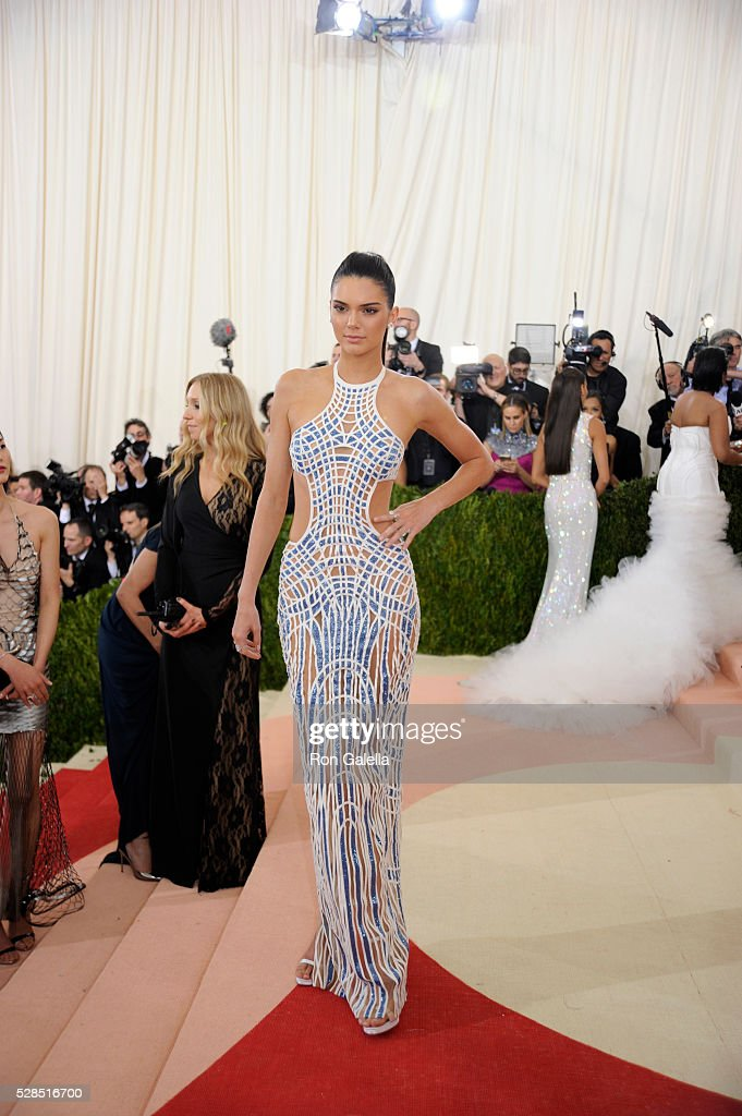 Kendall Jenner at Metropolitan Museum of Art on May 2, 2016 in New York City.