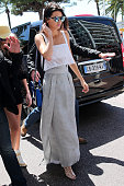 Kendall Jenner at the Martinez Hotel during the 68th annual Cannes Film Festival on May 20 2015 in Cannes France