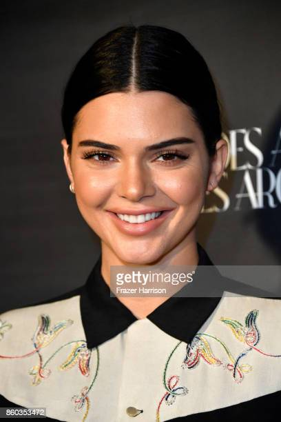 Kendall Jenner at What Goes Around Comes Around on October 11 2017 in Beverly Hills California
