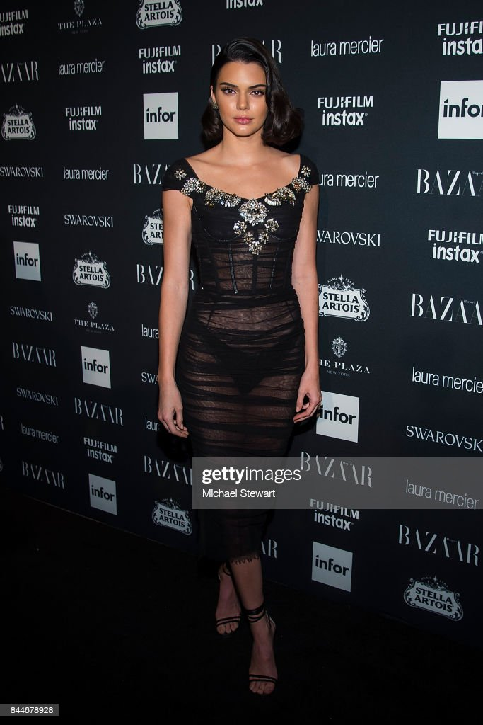Kendall Jenner attends 2017 Harper's Bazaar Icons at The Plaza Hotel on September 8, 2017 in New York City.