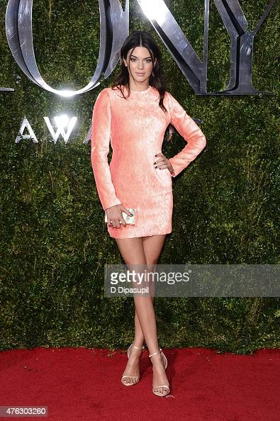 Kendall Jenner attends American Theatre Wing's 69th Annual Tony Awards at Radio City Music Hall on June 7 2015 in New York City