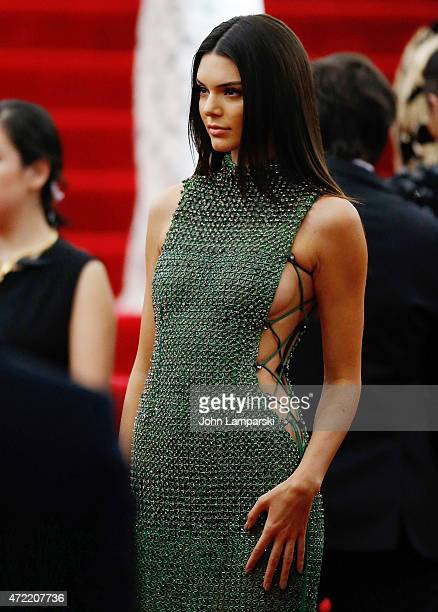 Kendall Jenner attends 'China Through The Looking Glass' Costume Institute Benefit Gala at Metropolitan Museum of Art on May 4 2015 in New York City