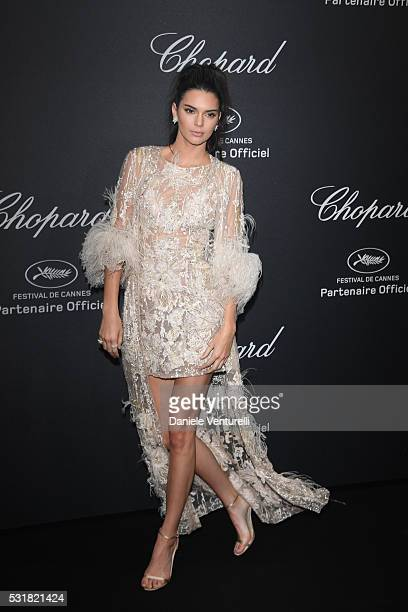 Kendall Jenner attends Chopard Wild Party as part of The 69th Annual Cannes Film Festival at Port Canto on May 16 2016 in Cannes
