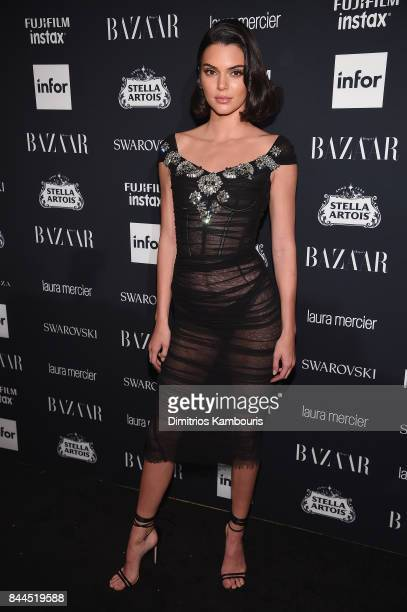 Kendall Jenner attends Harper's BAZAAR Celebration of 'ICONS By Carine Roitfeld' at The Plaza Hotel presented by Infor Laura Mercier Stella Artois...