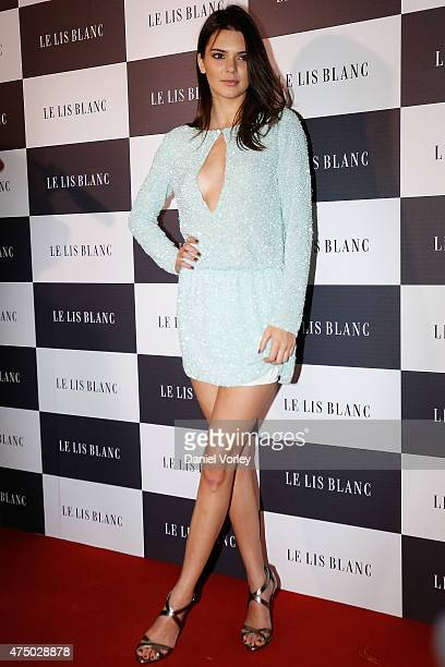 Kendall Jenner attends Le Lis Blanc Winter Collection Cocktail at Le Lis Blanc store on May 28 2015 in Sao Paulo Brazil