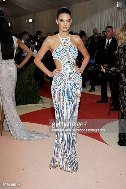 Kendall Jenner attends 'Manus x Machina Fashion In An Age Of Technology' Costume Institute Gala at