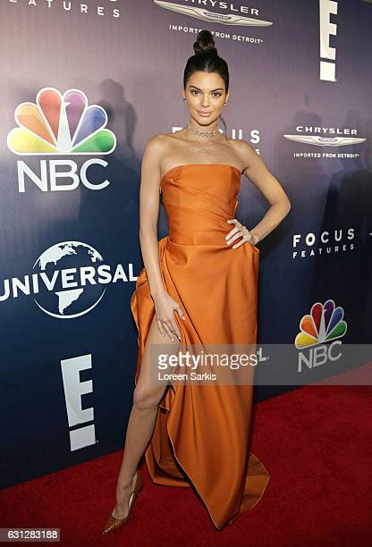 Kendall Jenner attends NBCUniversal's 74th Annual Golden Globes After Party at The Beverly Hilton Hotel on January 8 2017 in Beverly Hills California