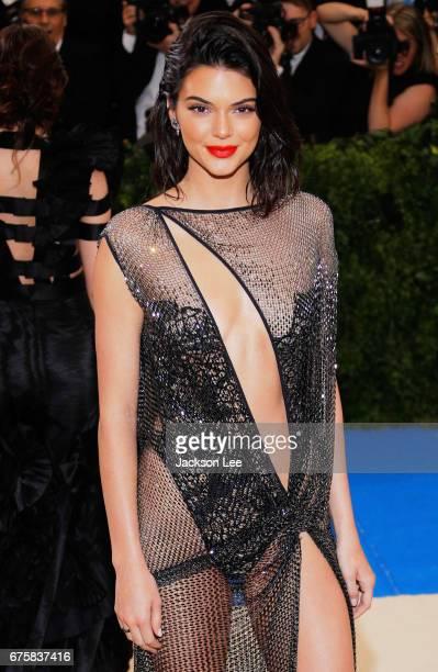 Kendall Jenner attends 'Rei Kawakubo/Comme des GarçonsArt of the InBetween' Costume Institute Gala at Metropolitan Museum of Art on May 1 2017 in New...