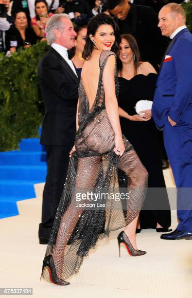 Kendall Jenner attends 'Rei Kawakubo/Comme des GarçonsArt of the InBetween' Costume Institute Gala at Metropolitan Museum of Art on May 1 2017 in New...