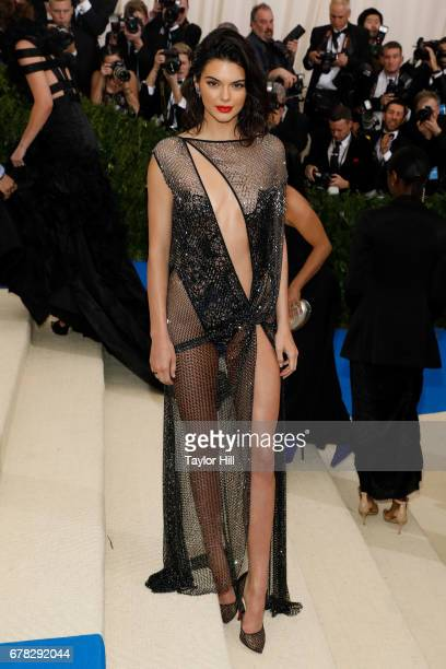 Kendall Jenner attends 'Rei Kawakubo/Commes Des Garcons Art of the InBetween' the 2017 Costume Institute Benefit at Metropolitan Museum of Art on May...