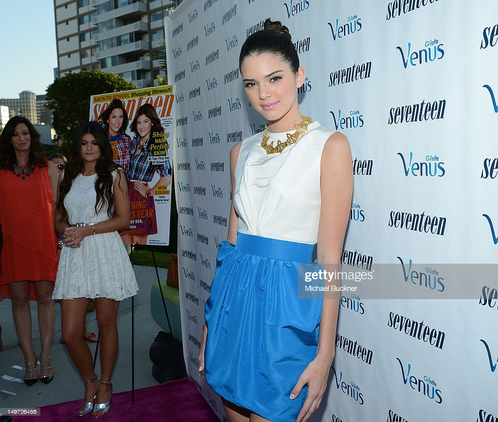 Kendall Jenner attends Seventeen Magazine's September Issue Celebration with Kendall Jenner and Kylie Jenner at the W Hotel Westwood on August 2, 2012 in Westwood, California.