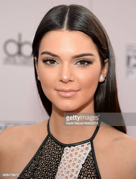 Kendall Jenner attends the 2014 American Music Awards at Nokia Theatre LA Live on November 23 2014 in Los Angeles California