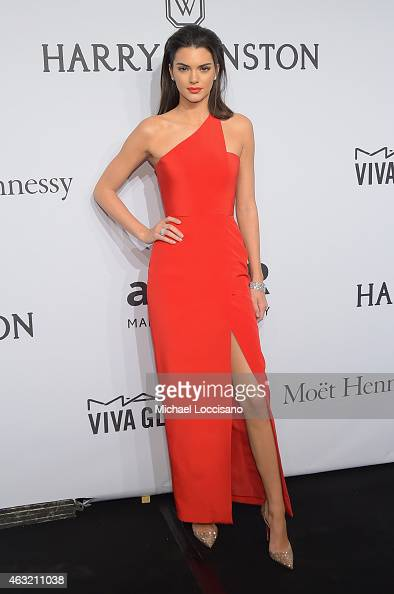 Kendall Jenner attends the 2015 amfAR New York Gala at Cipriani Wall Street on February 11 2015 in New York City