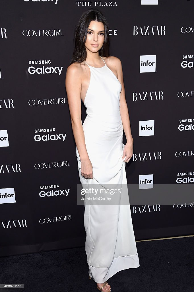 <a gi-track='captionPersonalityLinkClicked' href=/galleries/search?phrase=Kendall+Jenner&family=editorial&specificpeople=2786662 ng-click='$event.stopPropagation()'>Kendall Jenner</a> attends the 2015 Harper's BAZAAR ICONS Event at The Plaza Hotel on September 16, 2015 in New York City.