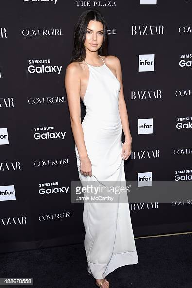 Kendall Jenner attends the 2015 Harper's BAZAAR ICONS Event at The Plaza Hotel on September 16 2015 in New York City