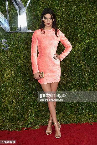 Kendall Jenner attends the 2015 Tony Awards at Radio City Music Hall on June 7 2015 in New York City