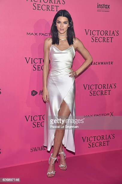 Kendall Jenner attends the 2016 Victoria's Secret Fashion Show after party on November 30 2016 in Paris France