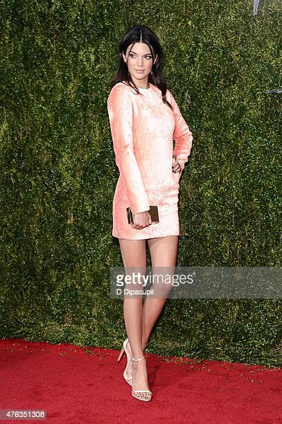 Kendall Jenner attends the American Theatre Wing's 69th Annual Tony Awards at Radio City Music Hall on June 7 2015 in New York City