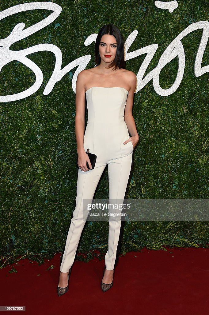 <a gi-track='captionPersonalityLinkClicked' href=/galleries/search?phrase=Kendall+Jenner&family=editorial&specificpeople=2786662 ng-click='$event.stopPropagation()'>Kendall Jenner</a> attends the British Fashion Awards at London Coliseum on December 1, 2014 in London, England.