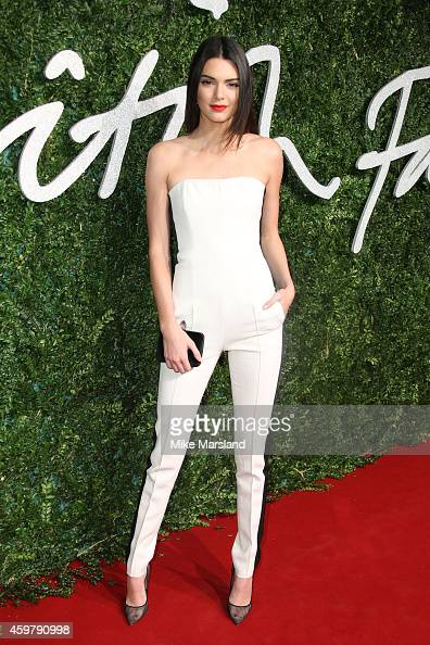 Kendall Jenner attends the British Fashion Awards at London Coliseum on December 1 2014 in London England
