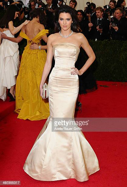 Kendall Jenner attends the 'Charles James Beyond Fashion' Costume Institute Gala at the Metropolitan Museum of Art on May 5 2014 in New York City