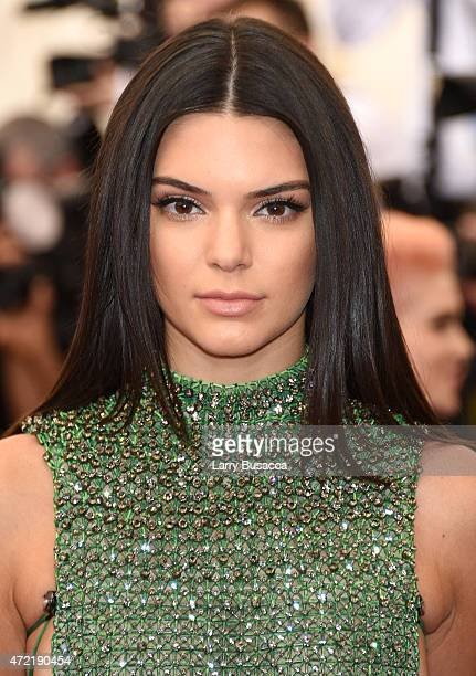 Kendall Jenner attends the 'China Through The Looking Glass' Costume Institute Benefit Gala at the Metropolitan Museum of Art on May 4 2015 in New...