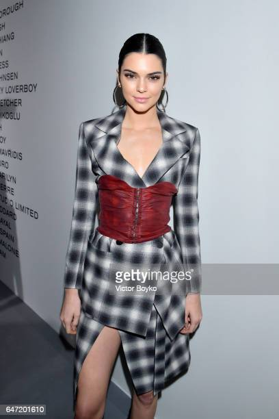 Kendall Jenner attends the Cocktail Reception For The LVMH PRIZE 2017 on March 2 2017 in Paris France