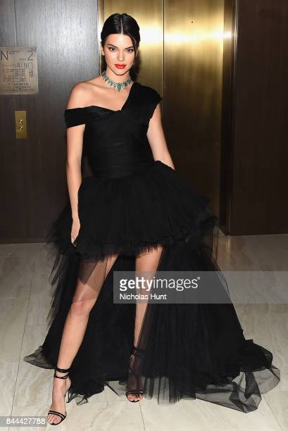 Kendall Jenner attends the Daily Front Row's Fashion Media Awards at Four Seasons Hotel New York Downtown on September 8 2017 in New York City