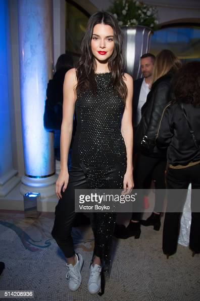 Kendall Jenner attends the Editorialist Spring/Summer 2016 Issue Launch Party at the Hotel Peninsula as part of the Paris Fashion Week Womenswear...