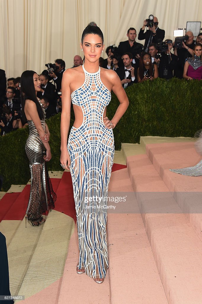 Kendall Jenner attends the 'Manus x Machina: Fashion In An Age Of Technology' Costume Institute Gala at Metropolitan Museum of Art on May 2, 2016 in New York City.