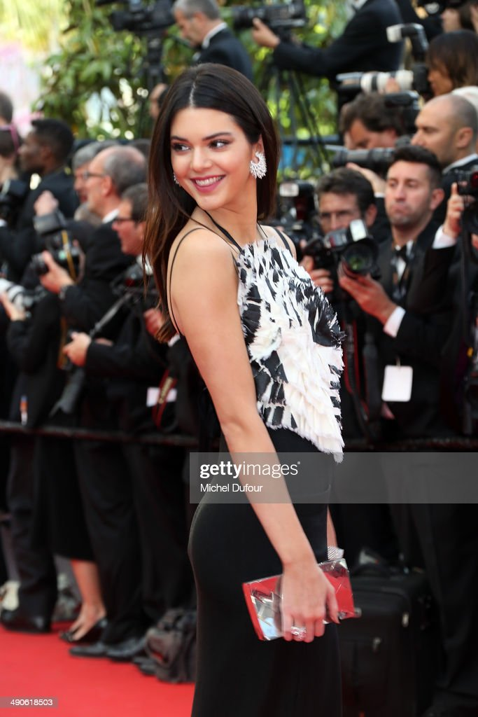 <a gi-track='captionPersonalityLinkClicked' href=/galleries/search?phrase=Kendall+Jenner&family=editorial&specificpeople=2786662 ng-click='$event.stopPropagation()'>Kendall Jenner</a> attends the Opening ceremony and Premiere of 'Grace of Monaco' at the 67th Annual Cannes Film Festival on May 14, 2014 in Cannes, France.
