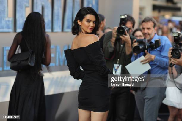 Kendall Jenner attends the premiere of EuropaCorp and STX Entertainment's 'Valerian and The City of a Thousand Planets' at TCL Chinese Theatre on...