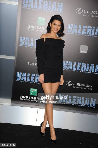 Kendall Jenner attends the premiere of EuropaCorp and STX Entertainment's 'Valerian and The City of a Thousand Planets' held at TCL Chinese Theatre...