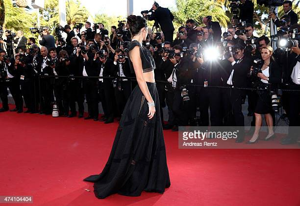 Kendall Jenner attends the Premiere of 'Youth' during the 68th annual Cannes Film Festival on May 20 2015 in Cannes France