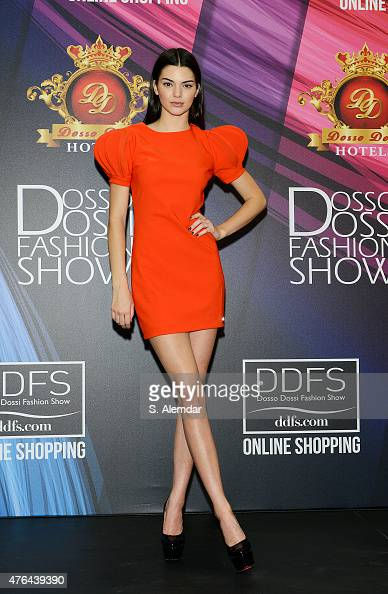 Kendall Jenner attends the press conference after the Dosso Dossi Fashion Show on June 9 2015 in Antalya Turkey