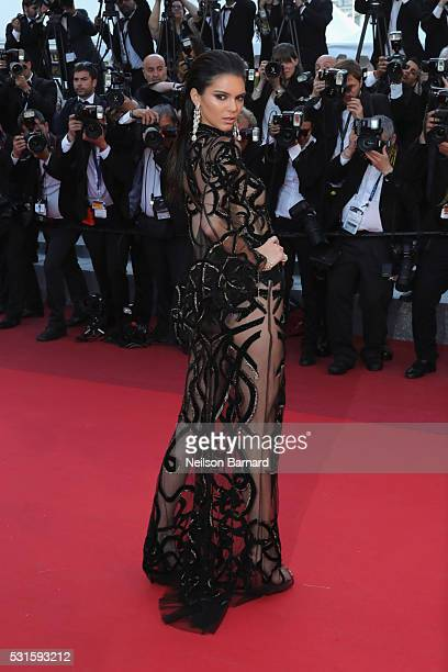 Kendall Jenner attends the screening of 'From The Land Of The Moon ' at the annual 69th Cannes Film Festival at Palais des Festivals on May 15 2016...