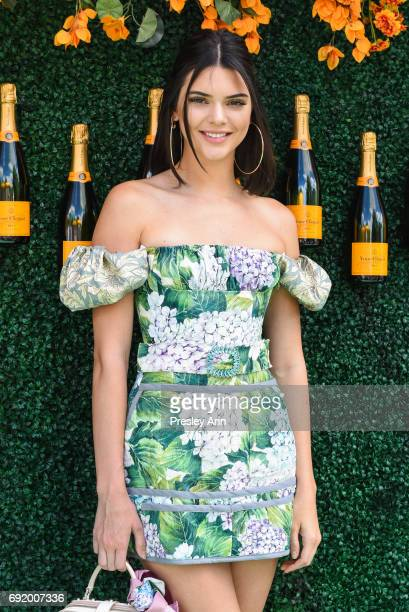 Kendall Jenner attends The Tenth Annual Veuve Clicquot Polo Classic Arrivals at Liberty State Park on June 3 2017 in Jersey City New Jersey