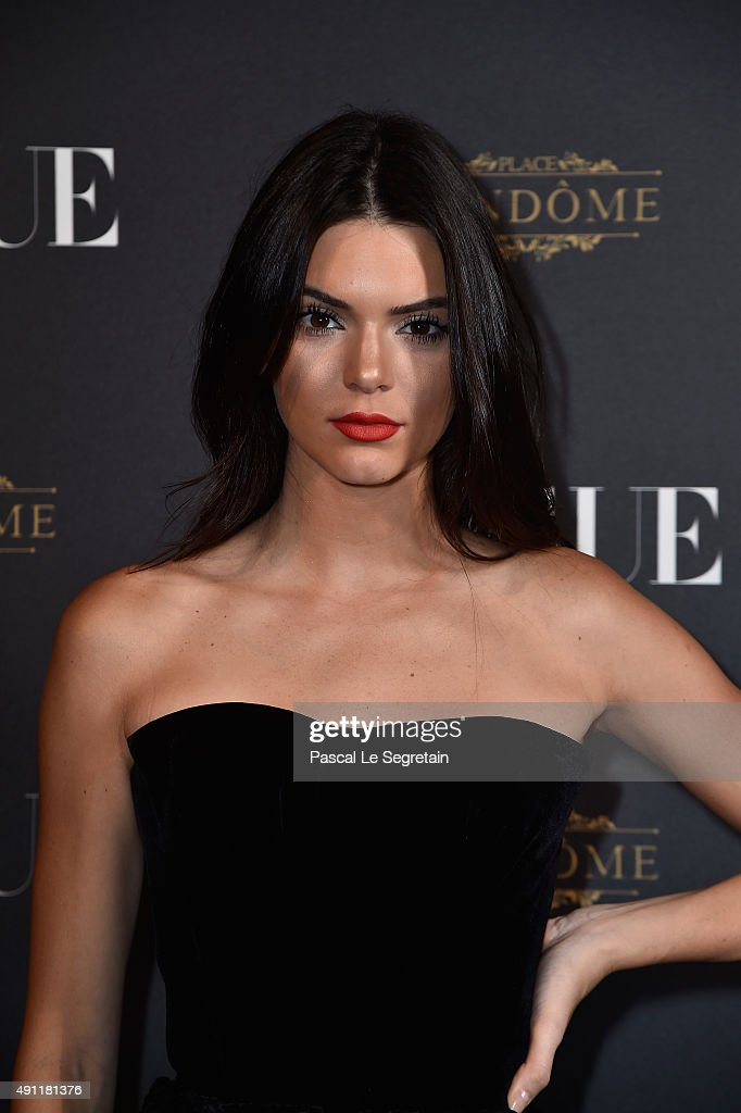 <a gi-track='captionPersonalityLinkClicked' href=/galleries/search?phrase=Kendall+Jenner&family=editorial&specificpeople=2786662 ng-click='$event.stopPropagation()'>Kendall Jenner</a> attends the Vogue 95th Anniversary Party on October 3, 2015 in Paris, France.
