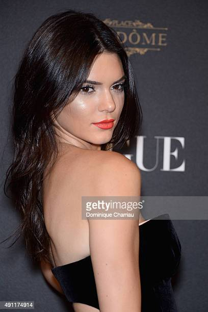 Kendall Jenner attends the Vogue 95th Anniversary Party Photocall as part of the Paris Fashion Week Womenswear Spring/Summer 2016 on October 3 2015...